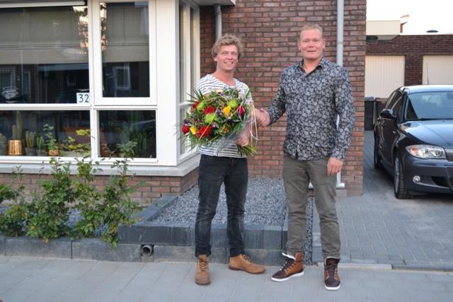Robert Glokstra wint gratis dakkapel