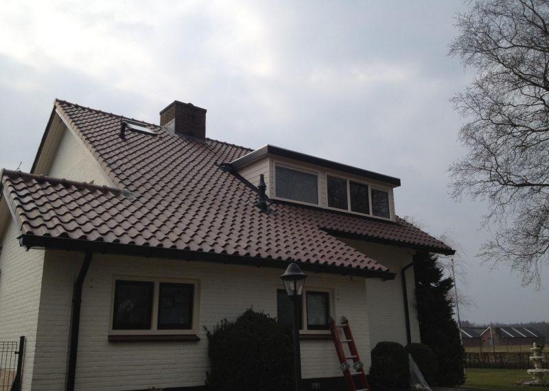 Gerealiseerde dakkapel