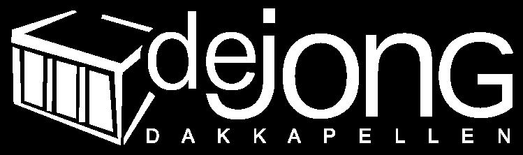 De Jong Dakkapellen Logo Wit